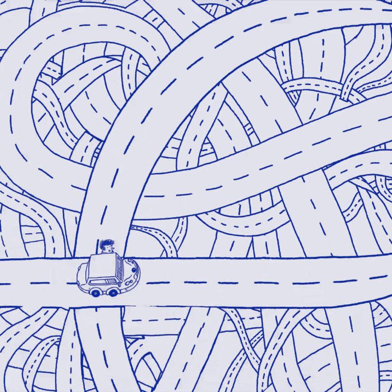 Straßenknoten